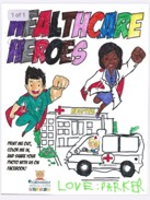 Healcare Heroes Coloring Page